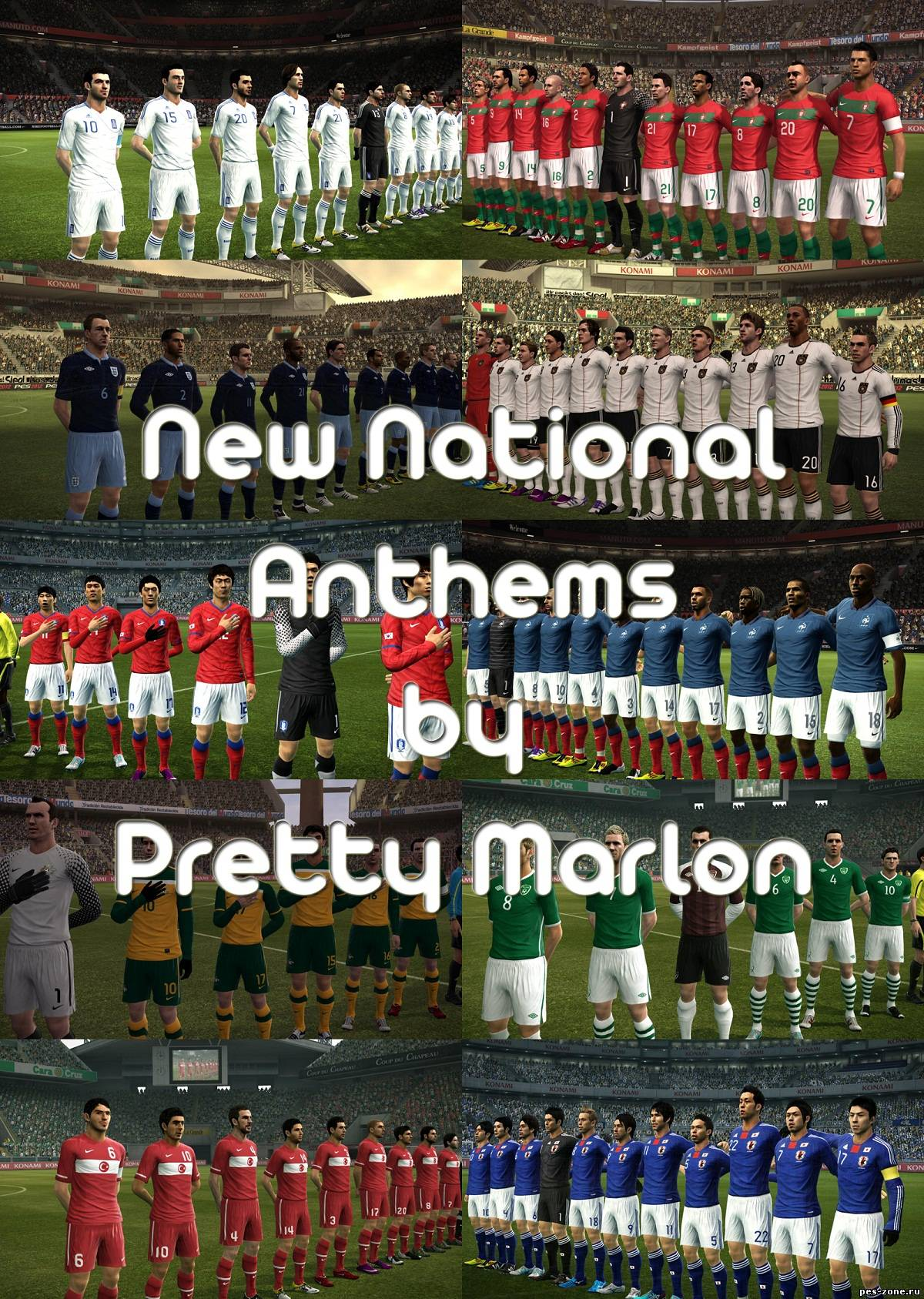 Pes 2012 New National anthems by PrettyMarlon