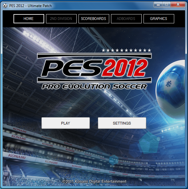 PES 2012 UTM Patch - 0.3 - DLC 1.00