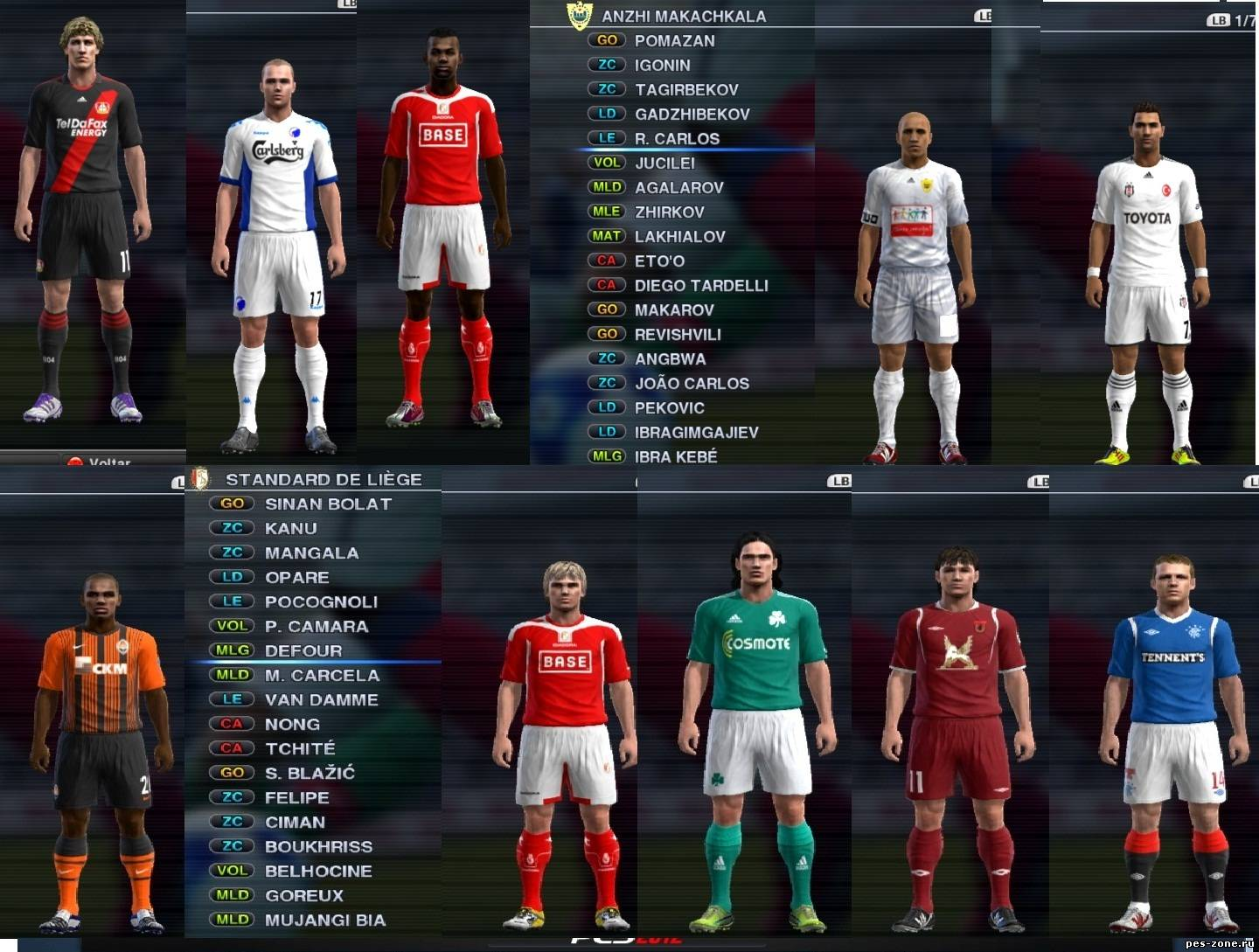 Pro World PES Patch 1.2