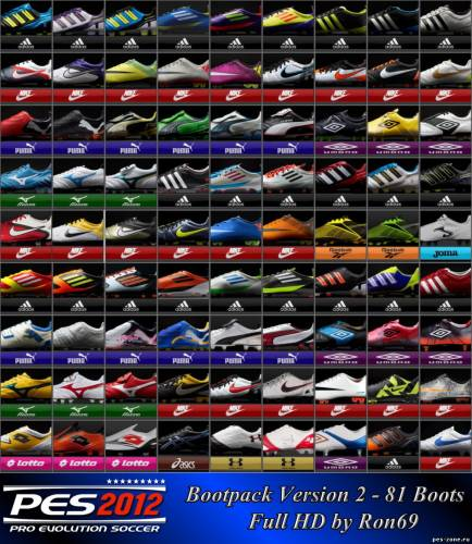 PES2012 Bootpack v2 by Ron69