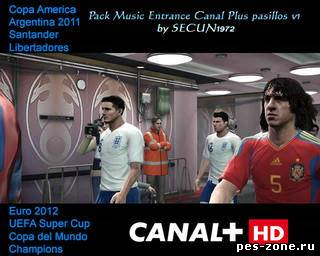 Pack Music Entrance Canal Plus pasillos v1