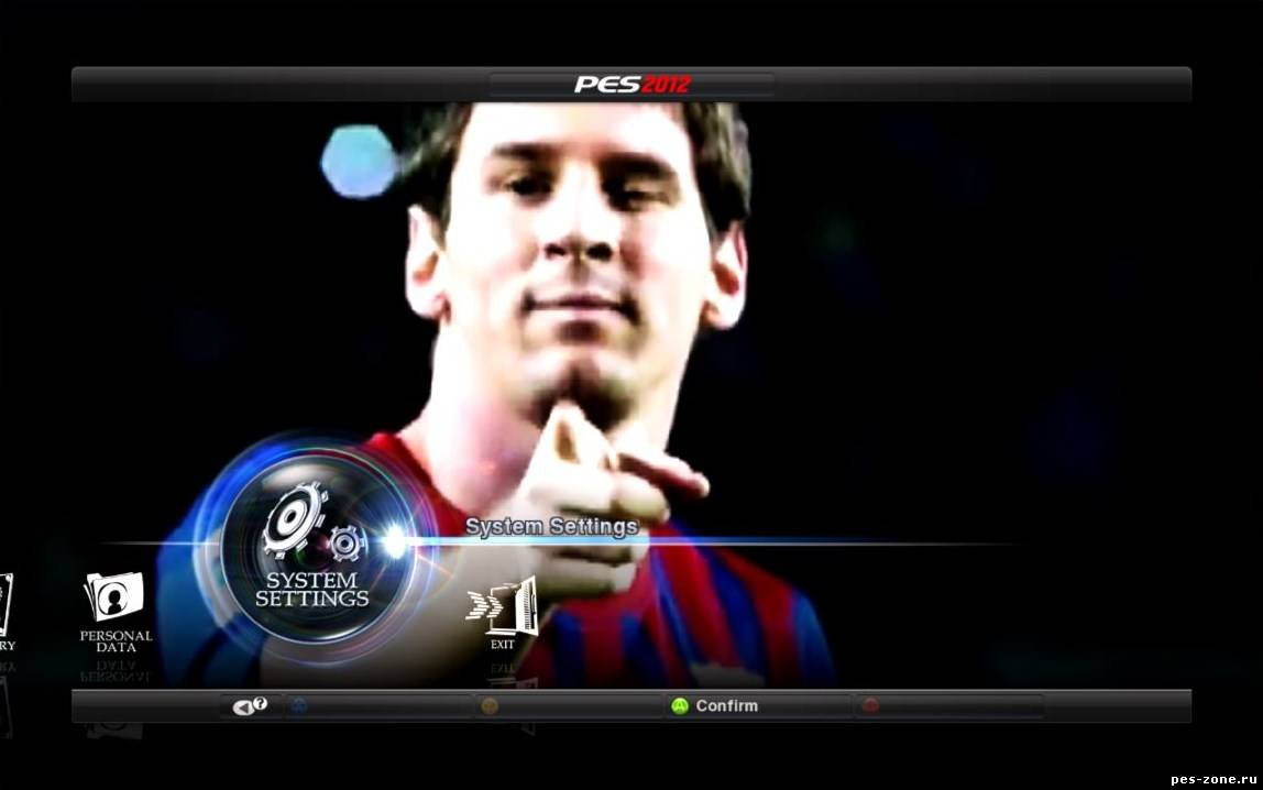 New Video for the Menu Messi