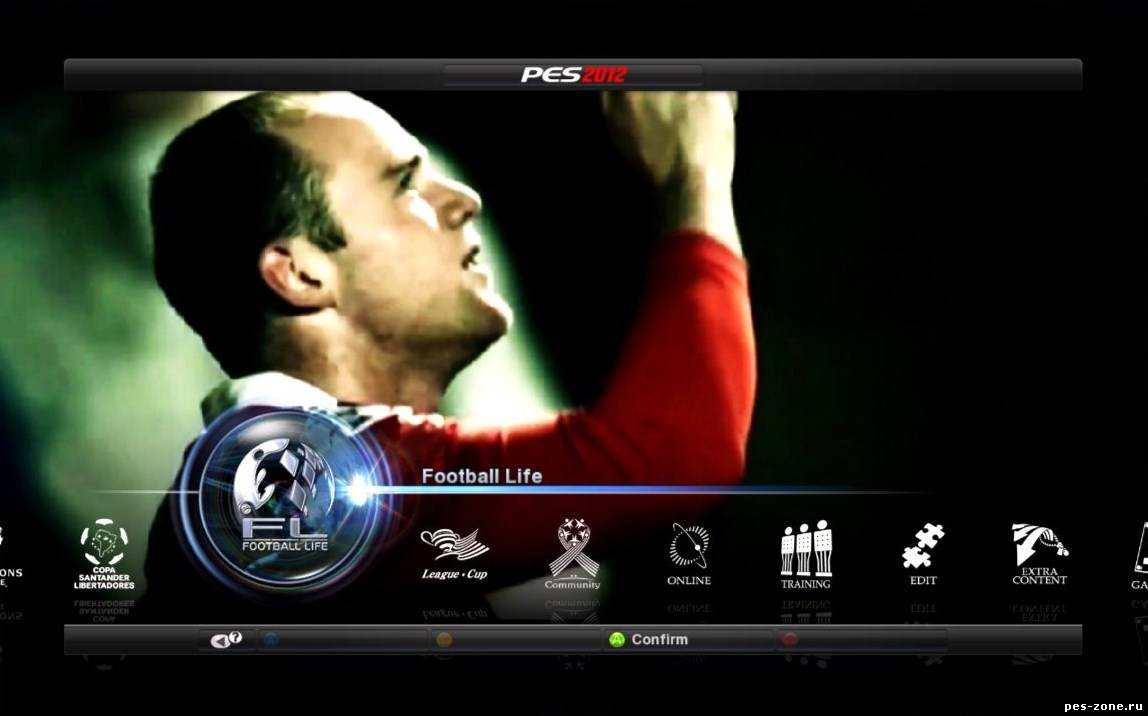 New Video for the Menu V.4 UEFA Champions League HD