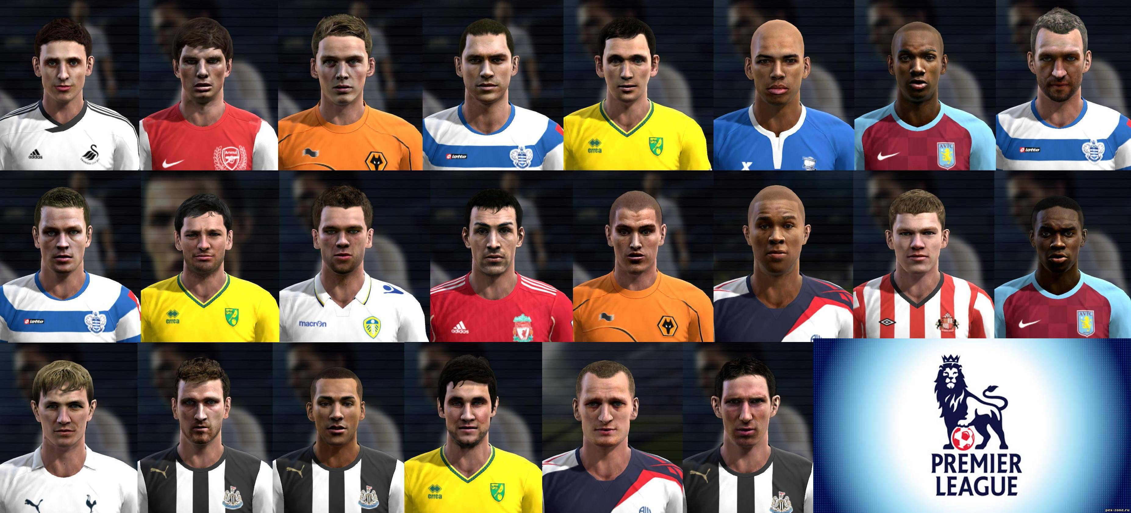 English League pack V3 by ANDREWS