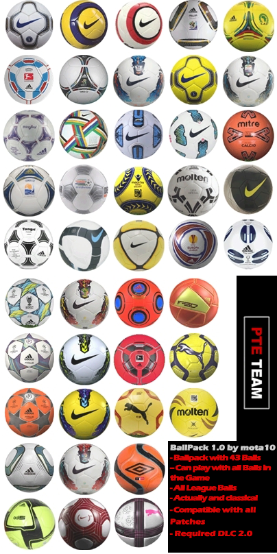 PES 2012 Ballpack 1.0 by mota10
