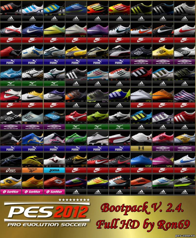 PES 2012 Bootpack Version 2.4 by Ron69