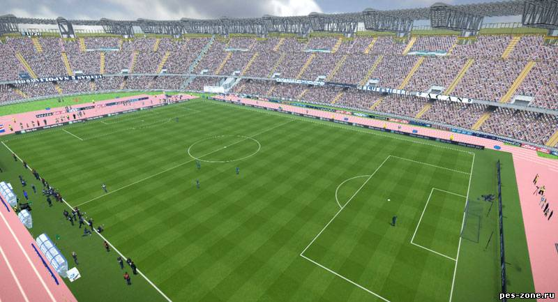 PES 2012 STADIO SAN PAOLO CONVERTED