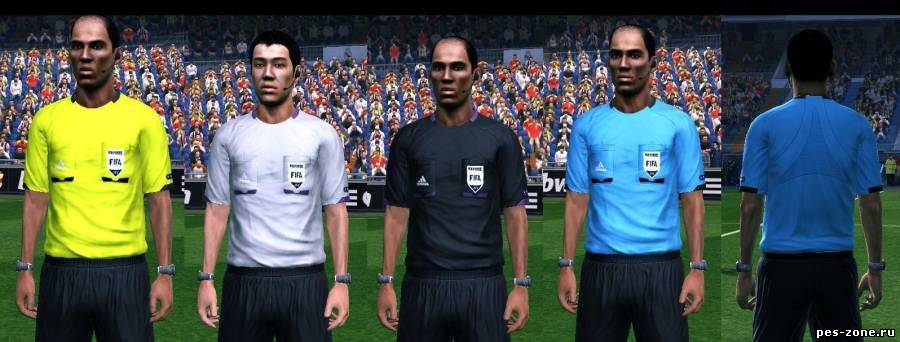 Adidas Referee Kits for EURO 2012