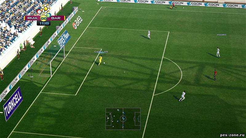 PES 2012 Auto Goalnet with Team's Logo