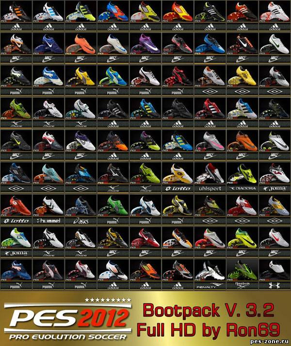 PES 2012 Bootpack V. 3.2 by Ron69