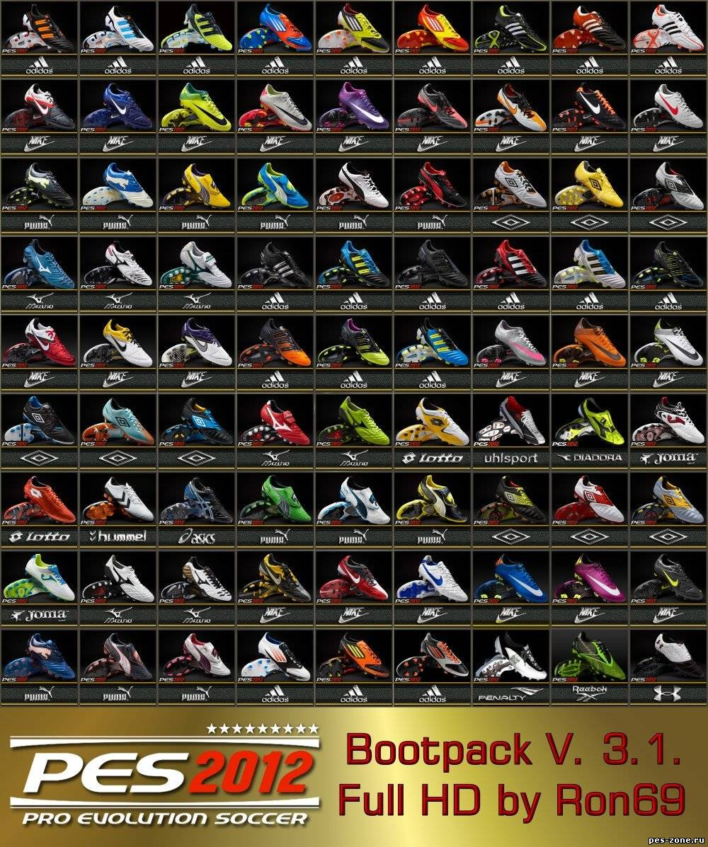PES 2012 - Bootpack V.3.1 by Ron69
