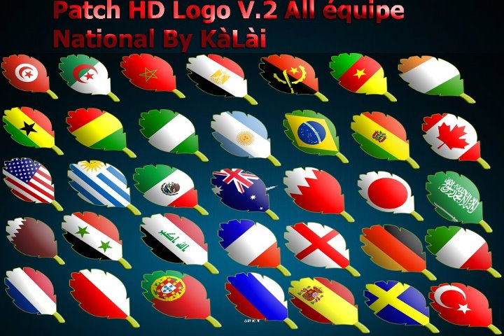 Patch HD Logo All équipe National