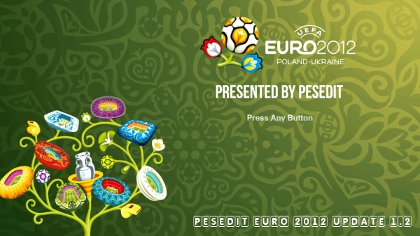 PESEdit EURO 2012 Update 1.2