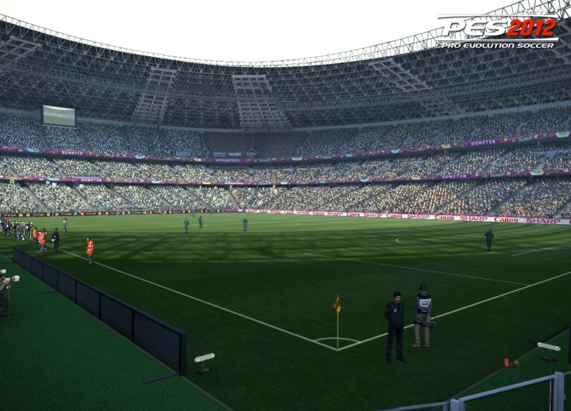Donbass Arena for PES 2012 by jnny