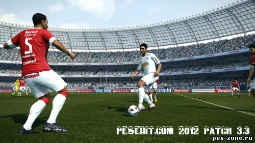 PESEdit.com 2012 Patch 3.3
