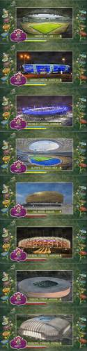 Stadium Pack EURO 2012 (8 stadiums in 1) for Fire Patch 2012