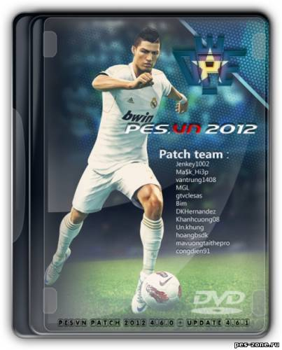 PES2012 PESVN PATCH 2012 4.6.0 + update 4.6.1