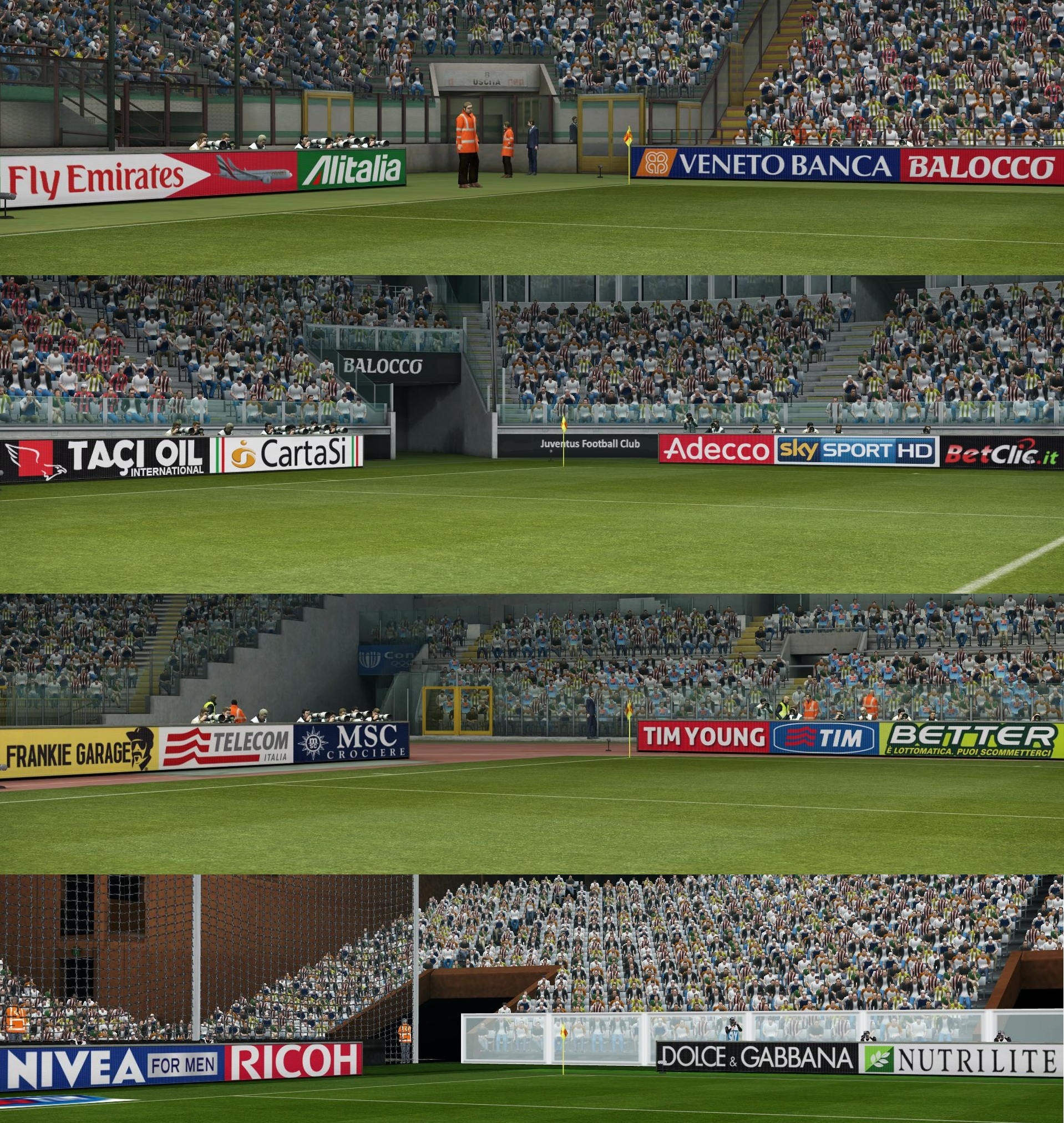 PES 2013 Adboards Pack by cheiron