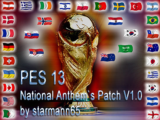 PES 2013 - National Anthems Patch V1