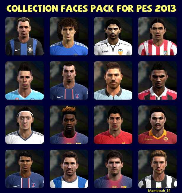 Big Facepack PES 2013