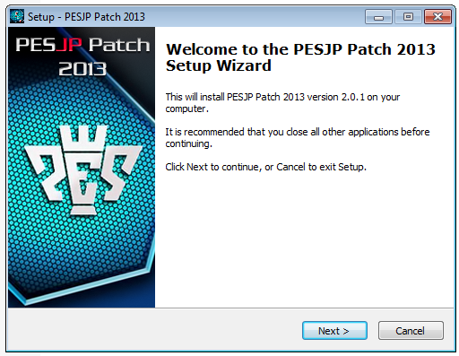 PESJP Patch 2013 Update 2.01