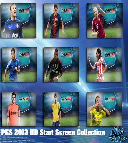 PES 2013 HD Start Screen Collection