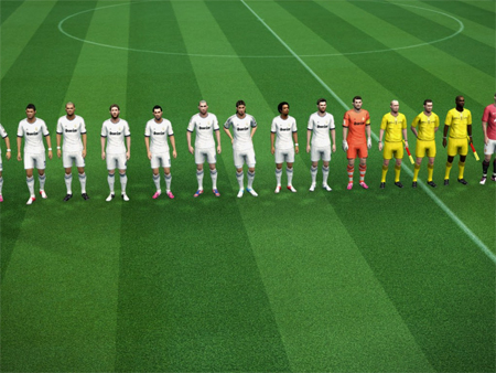 PES 2013 - Grass texture for all stadiums