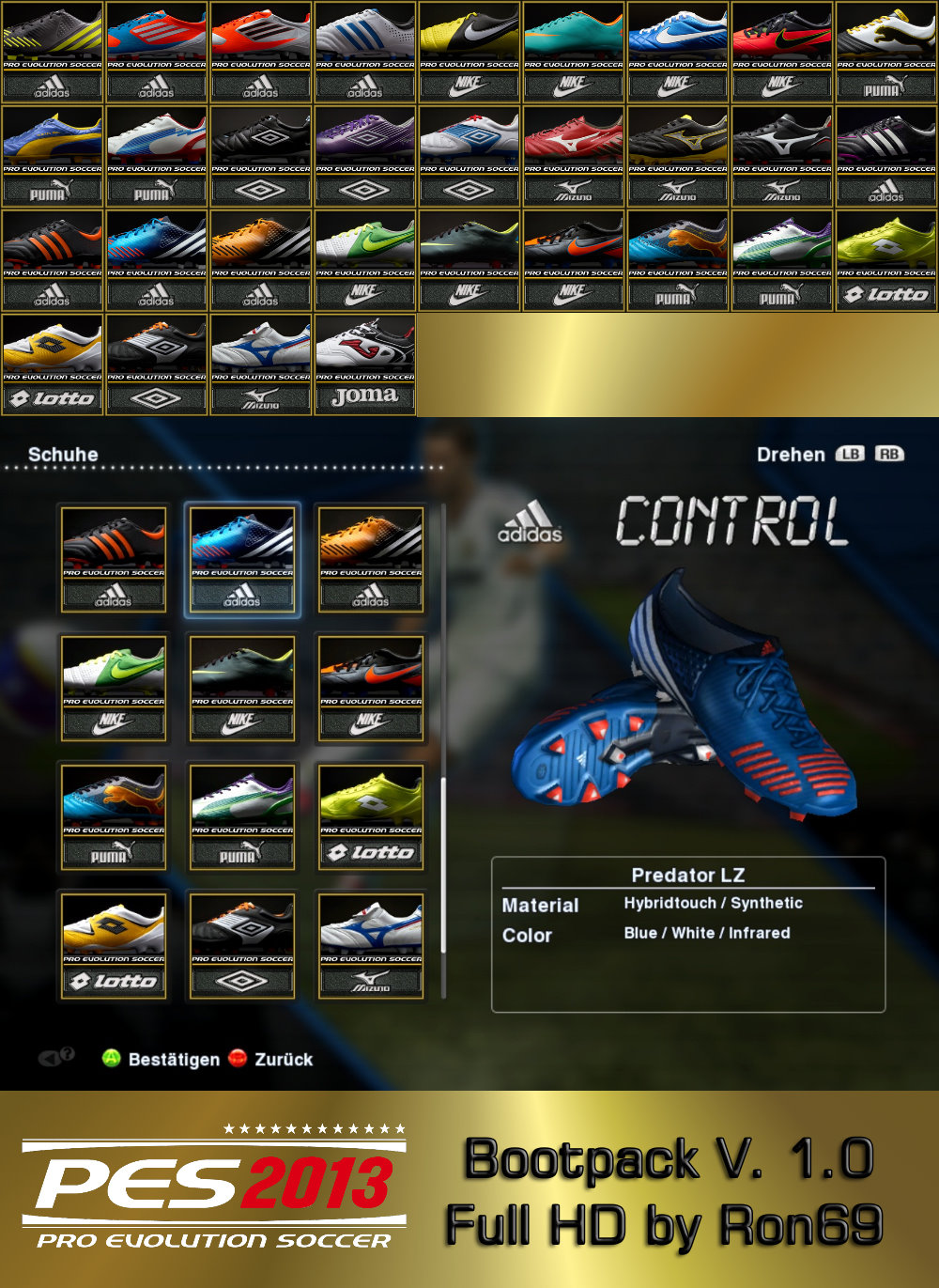 PES 2013 Bootpack 1.0 by Ron69