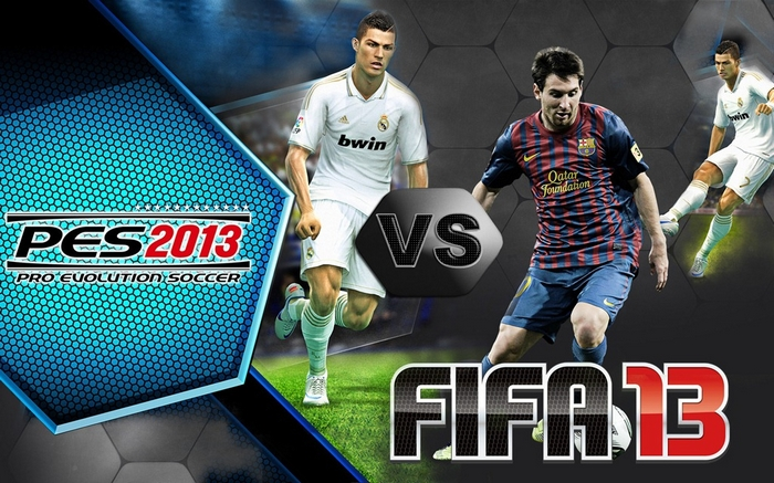 English FIFA commentary for PES 2013