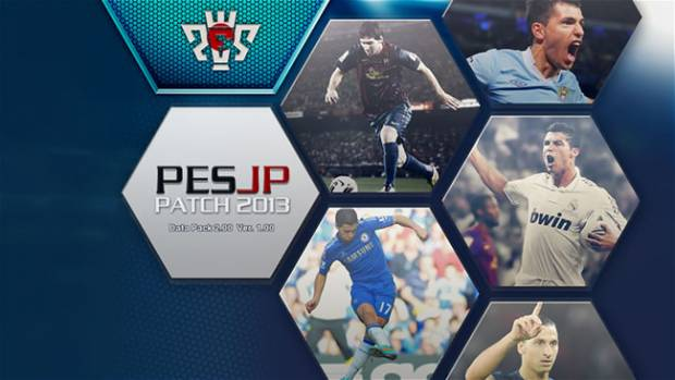 PESJP PATCH 2013 v1.3 + Update 1.3.2