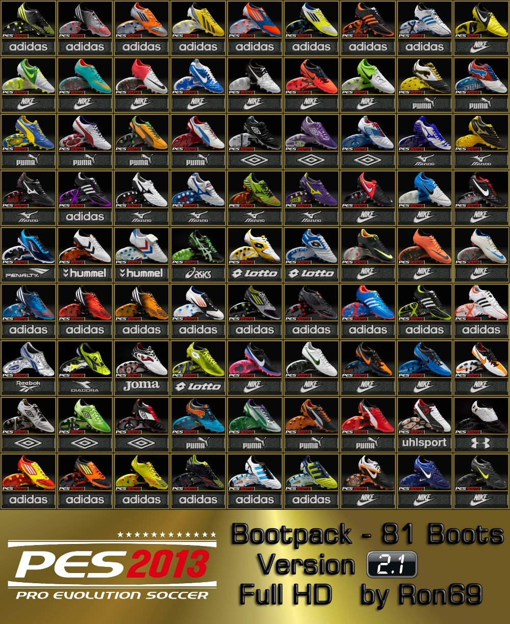 PES 2013 Bootpack 2.1 by Ron69
