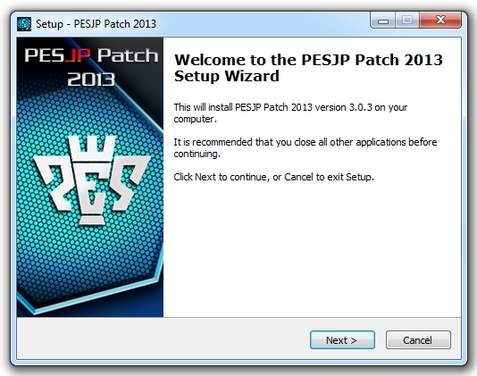 PESJP Patch 2013 update 3.03