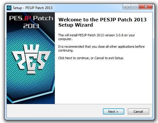 PESJP Patch 2013 update 3.08