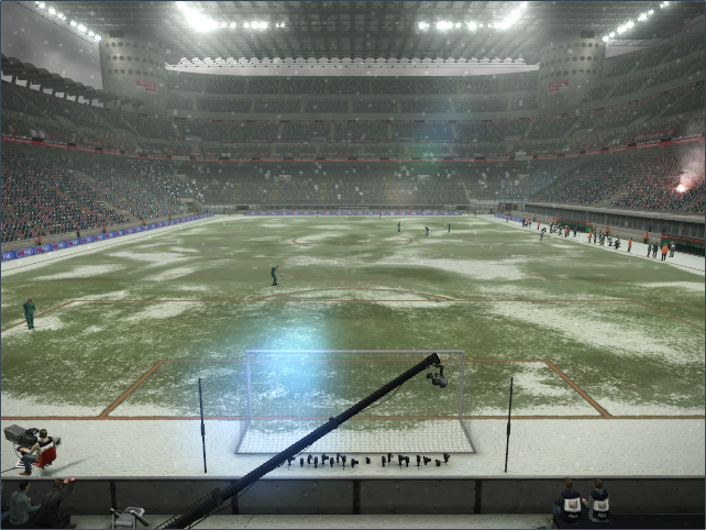 PES 2013 - SNOW EFFECT