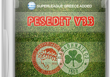 PESEdit.com 2013 Patch 3.3 для PES 2013