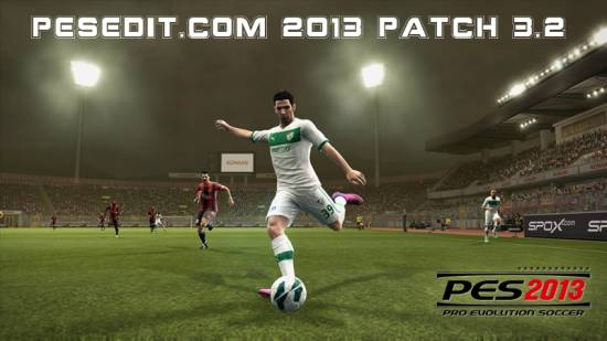 PESEdit.com 2013 Patch 3.2