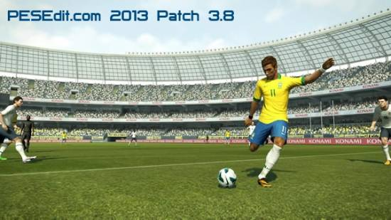 PESEdit.com 2013 Patch 3.8