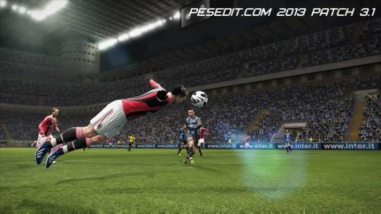 PESEdit.com 2013 Patch 3.1 для PES 2013