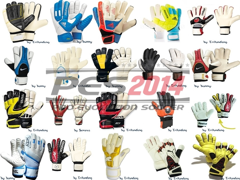 PES 2014 Goalkeeper Gloves Pack