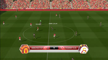 PES 2014 Old Trafford HD Turf v1