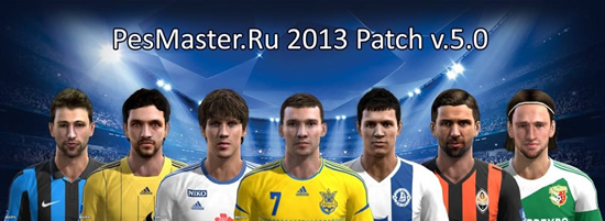 PesMaster.Ru 2013 Patch v.5.0
