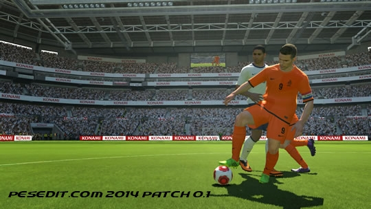 Скачать PESEdit.com 2014 Patch 0.1 для PES 2014