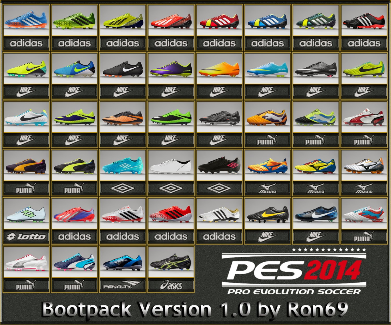 PES 2014 Bootpack Version 1.0 by Ron69