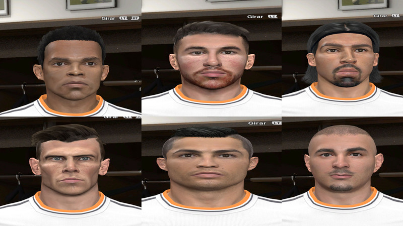 PES 2014 Real Madrid Facepack