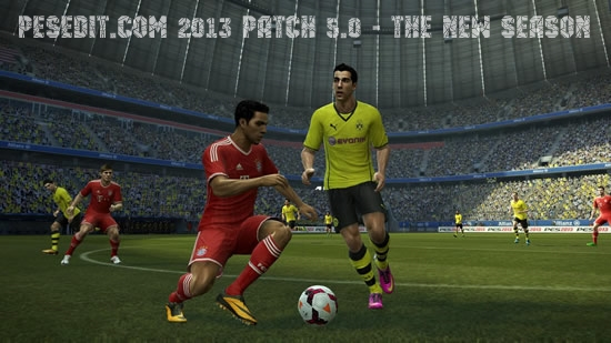 PESEdit.com 2013 Patch 5.0 - The New Season