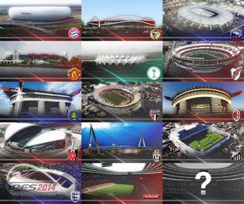 PES 2014 Realistic Stadium Preview