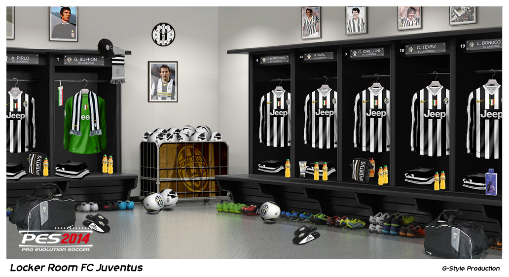 PES 2014 Locker Room Juventus