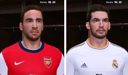 PES 2014 Isco and Flamini Face