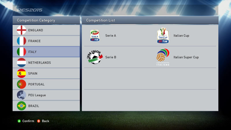 PES 2015 Licence Patch 1.01 by Laim