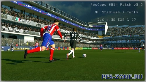 PesCups 2014 Patch v3.0 AIO для PES 2014